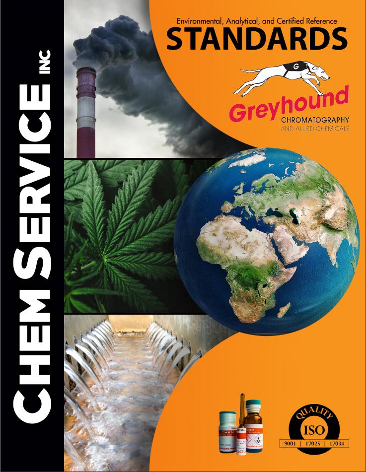 Chem service standards catalogue