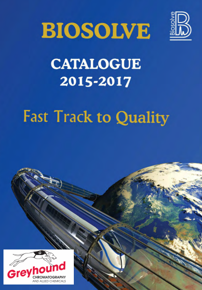 Biosolve 2015 - 2017 Catalogue