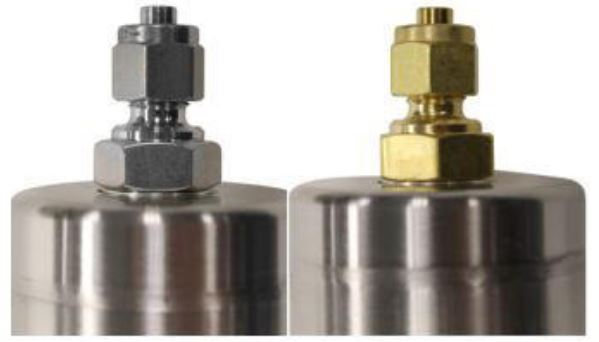Brass and Stainless Steel Gas Filter Fittings