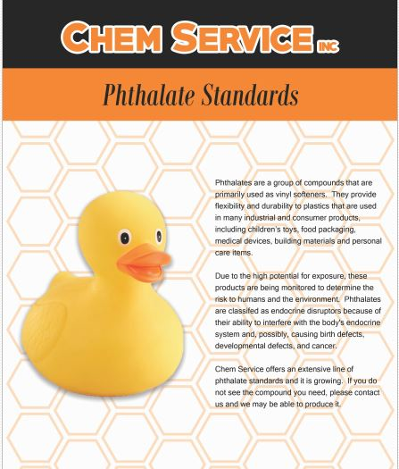 Phthalate Standards Brochure