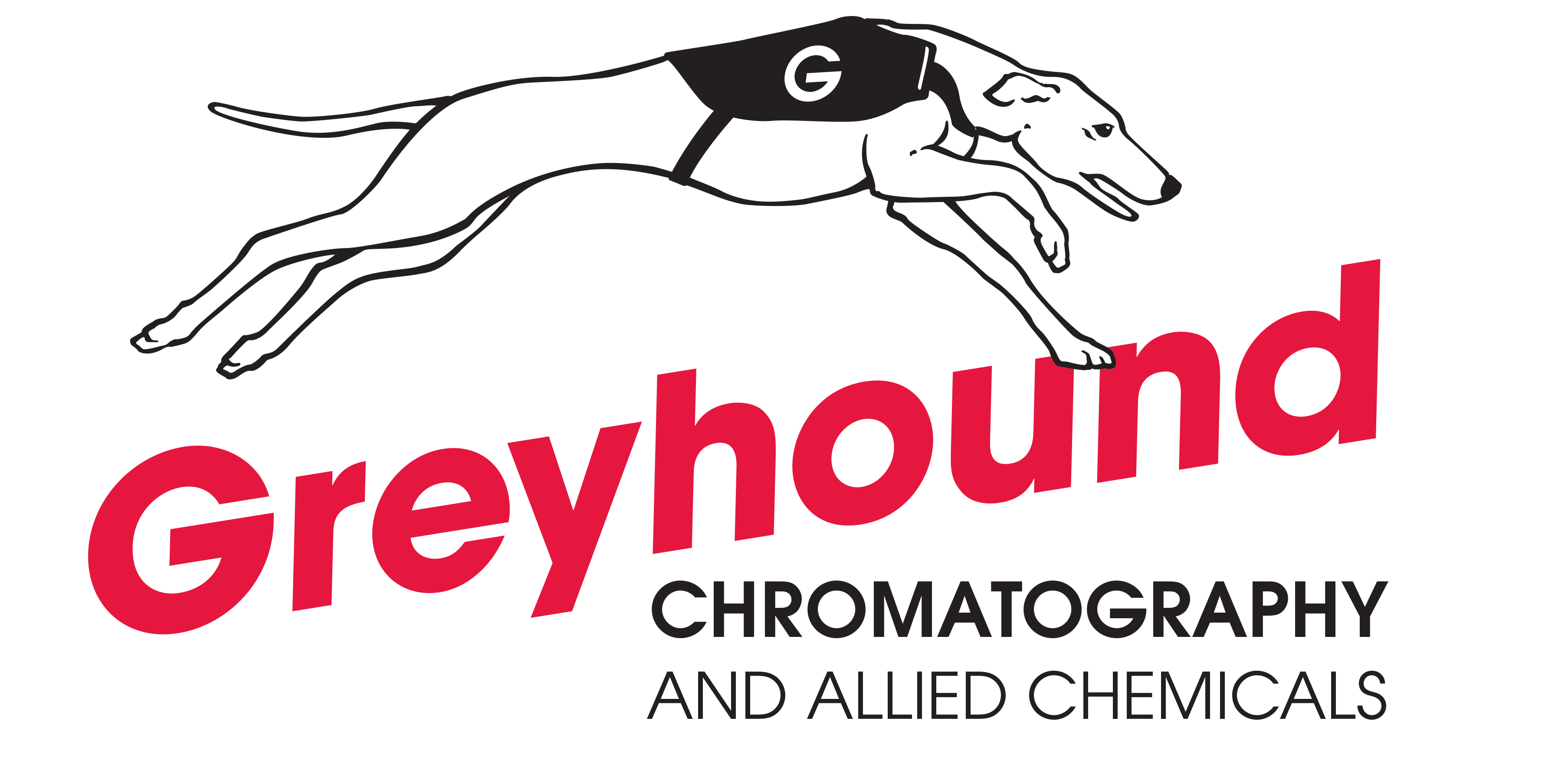Greyhound Chromatography Colour Logo Image
