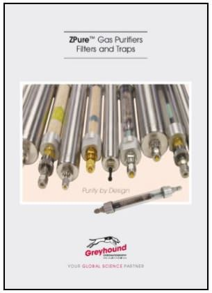Greyhound Chromatography ZPure Filters Catalogue