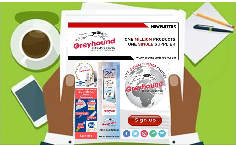 Greyhound Chromatography's Newsletter