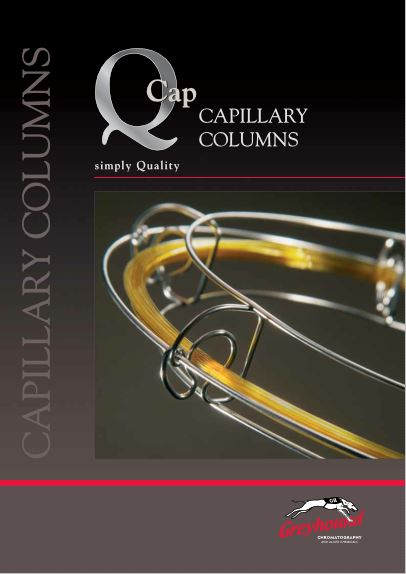 Greyhound Chromatography Q Capillary Column Catalogue