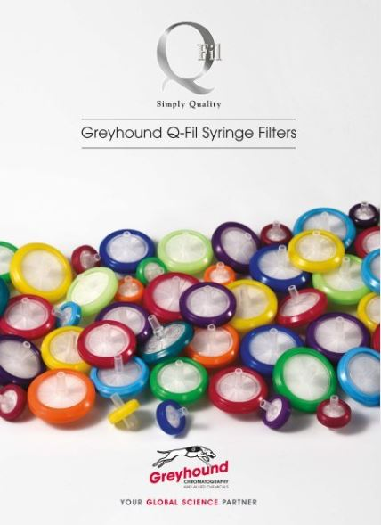 Q-Fil Syringe Filters Catalogue Cover Image