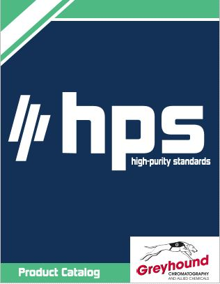 High Purity Standards Catalogue Cover