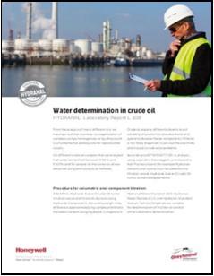 Honeywell Water Determination in Crude Oil