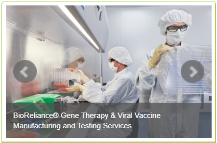 BioReliance® Gene Therapy & Viral Vaccine Manufacturing and Testing Services