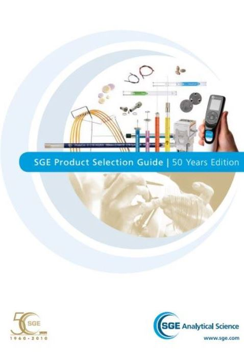 SGE Product Selection Guide