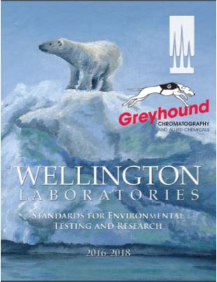 Wellington Laboratories Catalogue cover