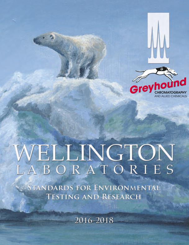 Wellington Laboratories catalogue