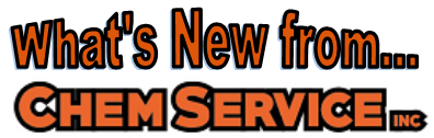 What's new from Chem Service
