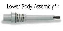 Hamilton Lower Body Assembly 250uL Pipette