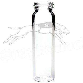 40mL Screw Top Storage Vial - Clear Glass