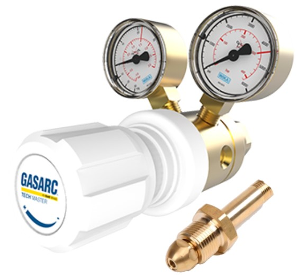 Picture of Gas Cylinder Regulator Two Stage (0-90psi)