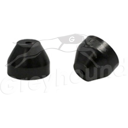 "Picture of 1/16"" - 0.8mm ID Vespel/Graphite Short Ferrule for Agilent GC Inlet"