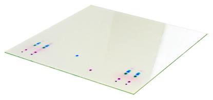 TLC PLATES, Nano-ADAMANT UV254, 0.2mm, 10x10cm