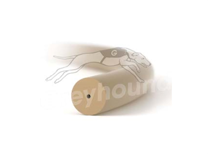 """PEEK Tubing Natural 0.014"""" (0.36mm) OD x  0.05mm (0.002"""") ID x 5ft"""