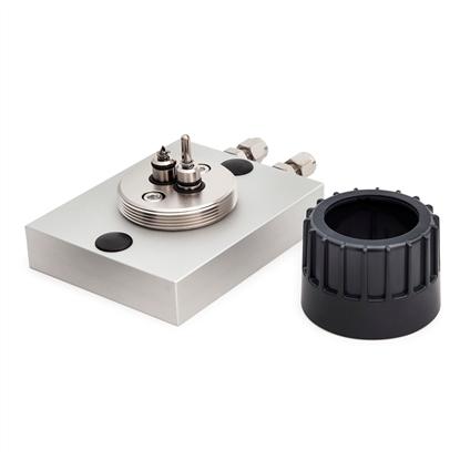 "Trajan Gas Filter Cartridge Base Plate, 1/4"" S/S (1 position)"