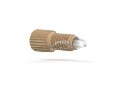 "NanoTight Male Nut PEEK Headless Short 10-32 Coned, for 1/16"" OD Tubing"