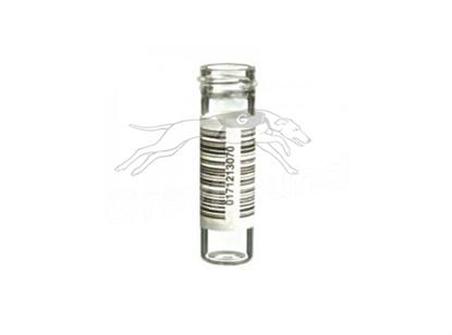 5.3mL Powder Vial with 14mm Custom External Thread - Clear Glass