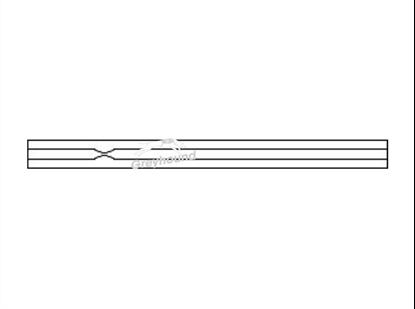 SGE Inlet Liner - Splitless with Recessed Gooseneck