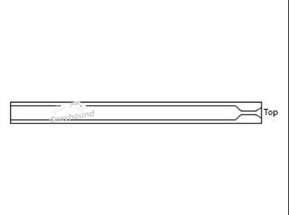 SGE Inlet Liner - Split/Splitless with single taper