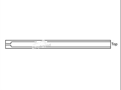 Split/Splitless Liner with single taper