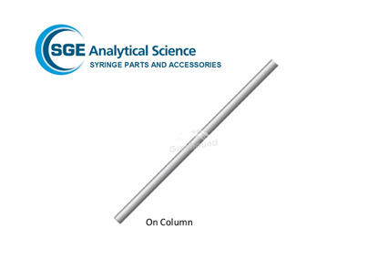SGE Needle 75mm, 0.23mm OD, 0.10mm ID, for 10µL On-Column Syringes