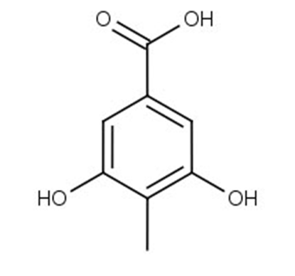 3,5-Dihydroxy-4-methylbenzoic acid