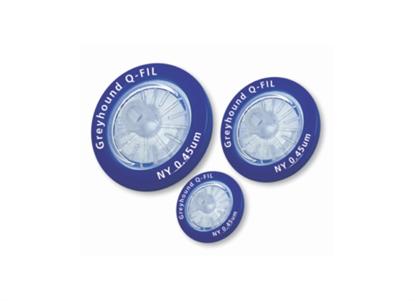 Nylon Syringe Filters, 0.45µm, 30mm, Sterile