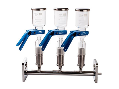 Stainless Steel Manifold Kit - with 3 Glass Stations