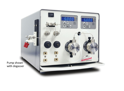 Pump, Binary Gradient, 5mL/min, SS, with degasser