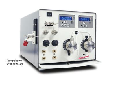 Pump, Binary Gradient, 10mL/min, PEEK, with degasser