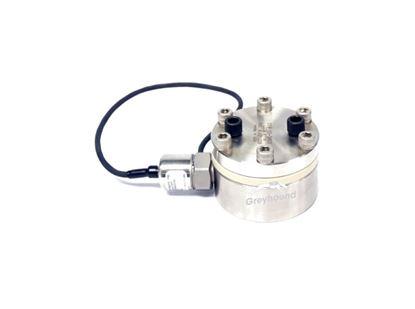P-1062 Greyhound Pulse Dampener PEEK with Transducer