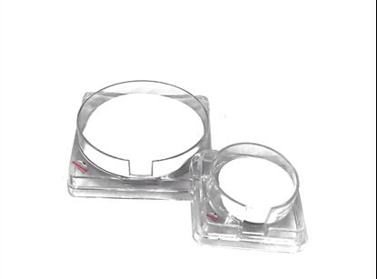 CN Gridded Membrane Filter, Black, Pore: 0.45μm, Diameter: 47mm, Sterile