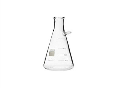 Glass Solvent Collection Flask with barb - 1000mL